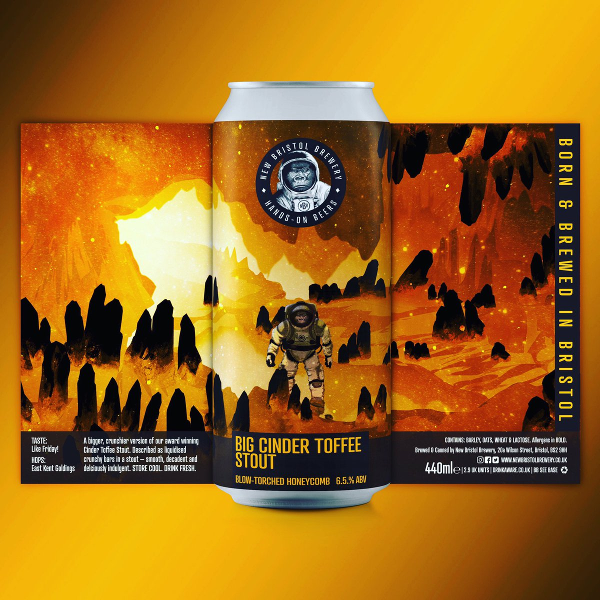 New Bristol Brewery Big Cinder Toffee Stout