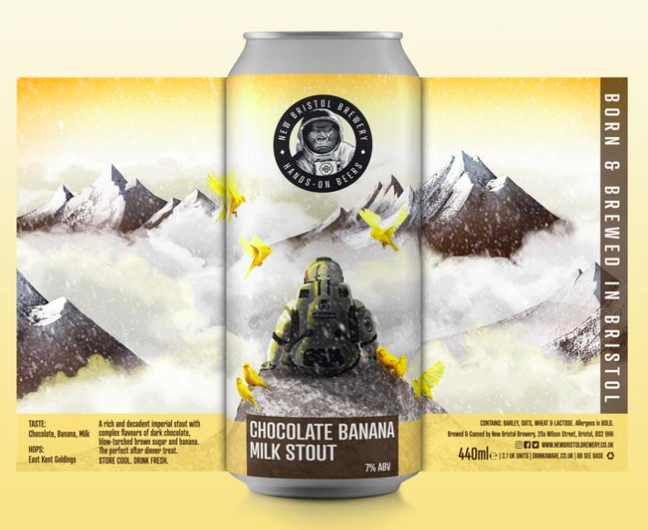 New Bristol Brewery Chocolate Banana Milk Stout