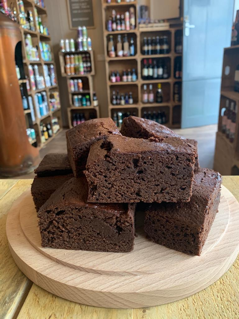 Dark Chocolate Porter Brownie Stout Cake