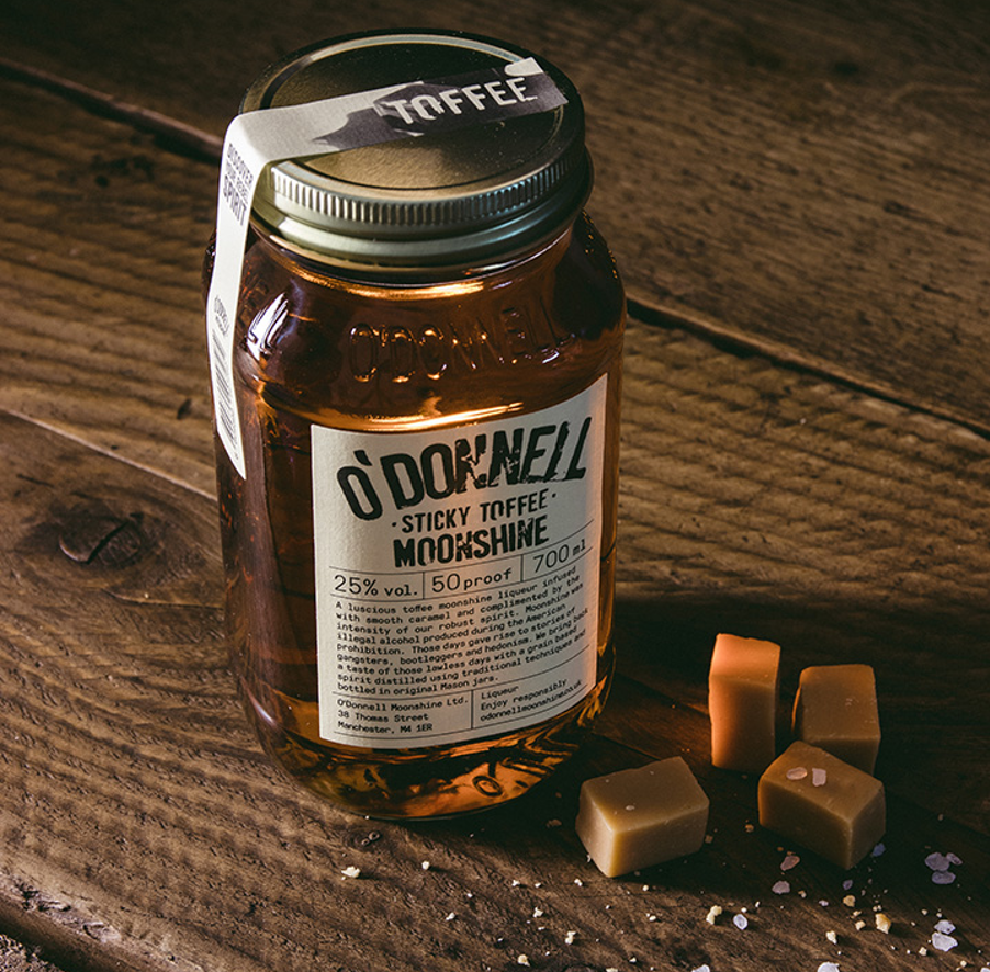 O Donnell Sticky Toffee Moonshine