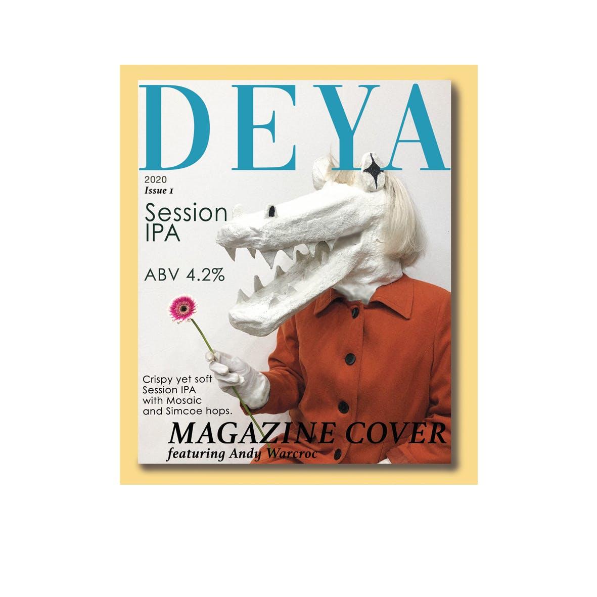 DEYA Magazine Cover