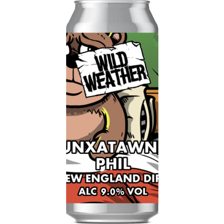 Wild Weather Punxsutawney Phil - New England DIPA