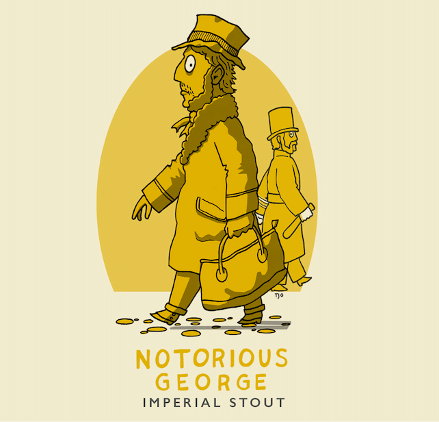 Dark Lanes Notorious George Imperial Stout