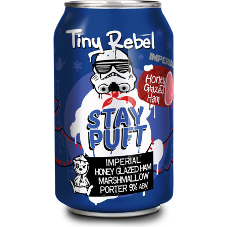 Tiny Rebel Stay Puft Imperial Honey Glazed Ham Marshmallow Porter