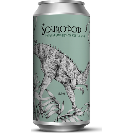 Staggeringly Good SOUROPOD - Papaya & Lychee Kettle Sour