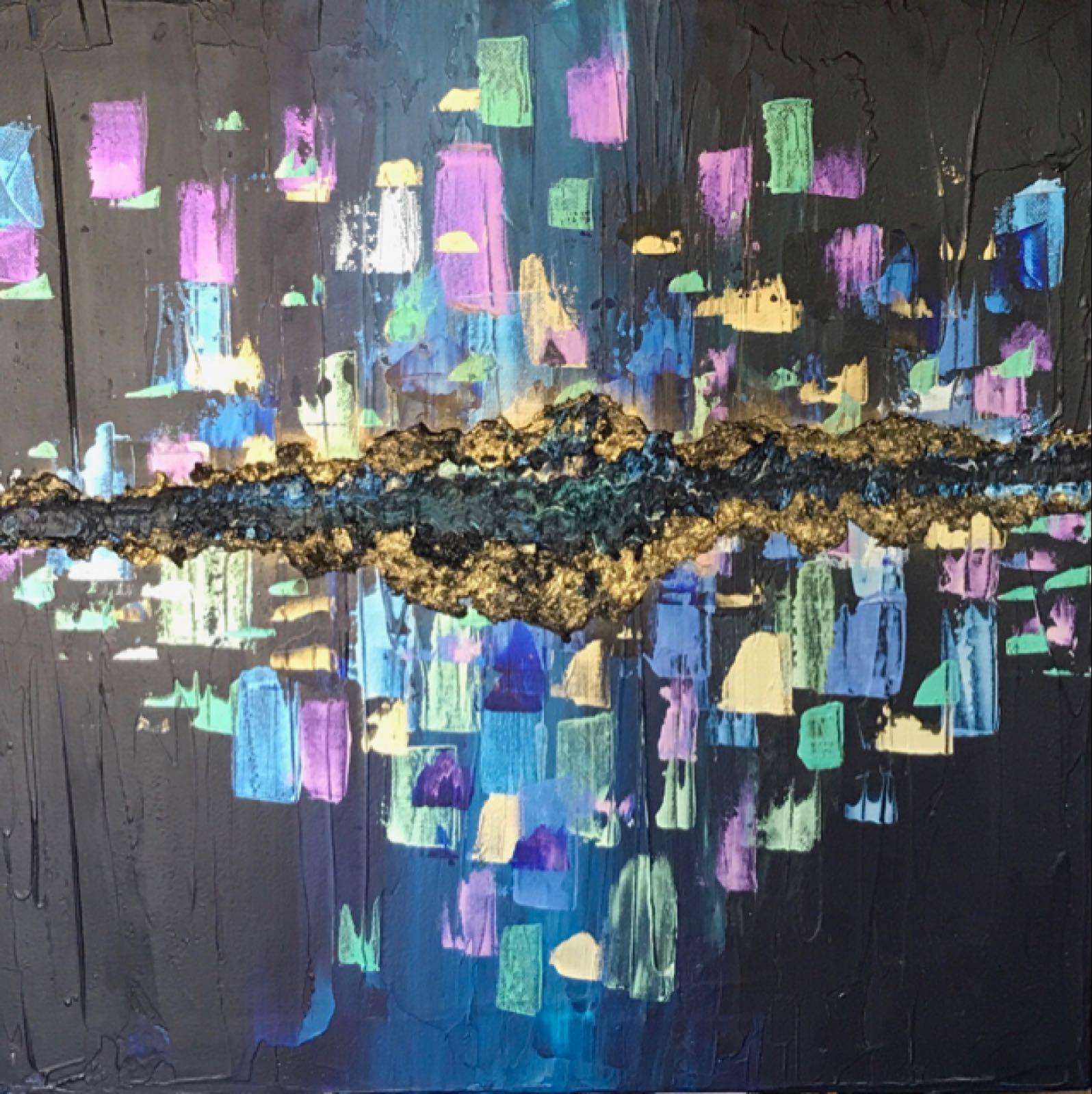 Original Work 'Blue City'