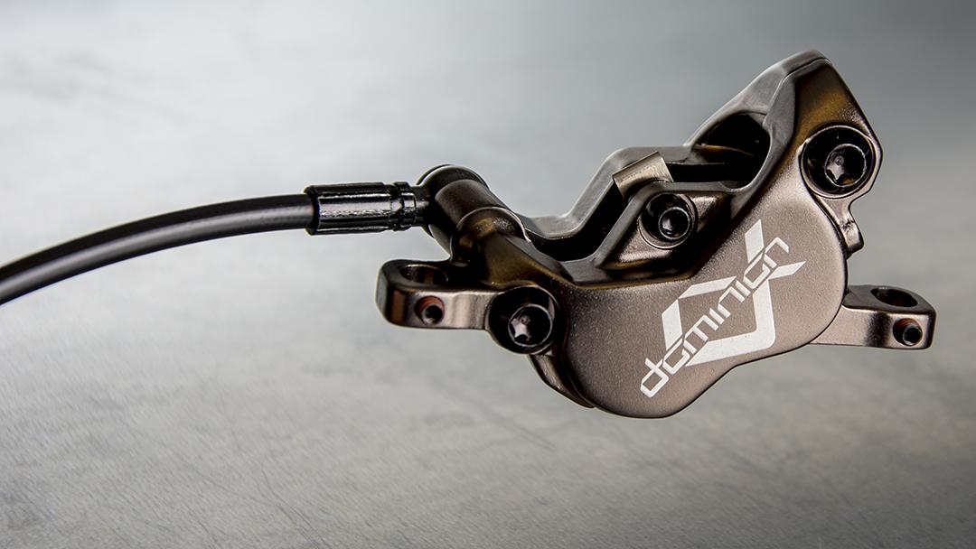 Hayes Dominion A4 Brake Kit, Black/Bronze