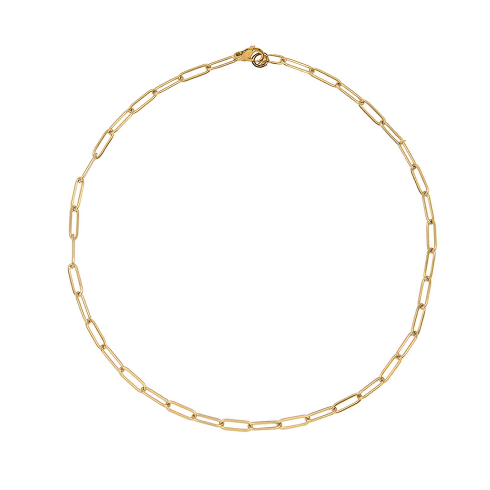 Gold Cable Necklace
