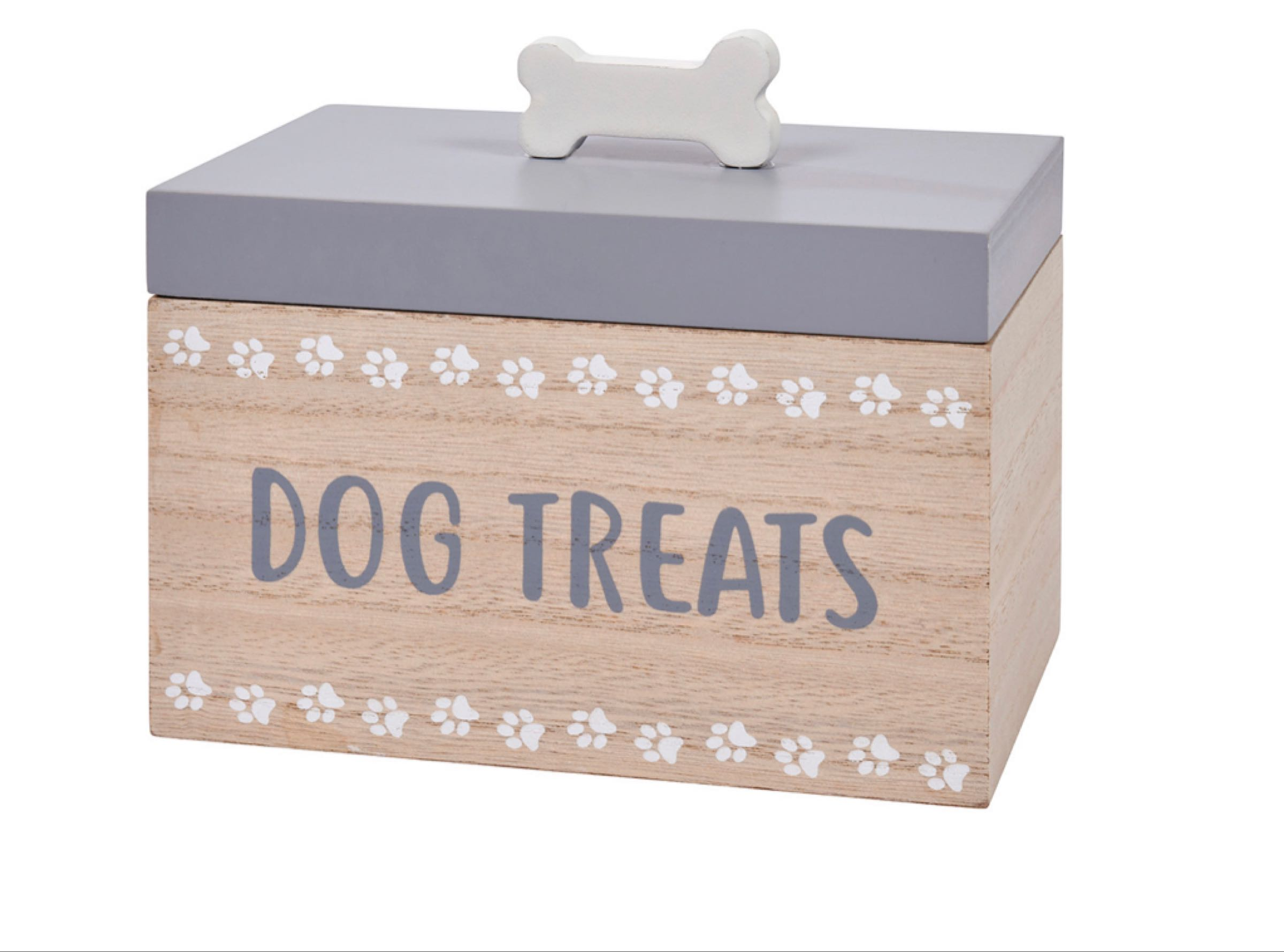 Wooden Dog Treat Box (can be personalised)