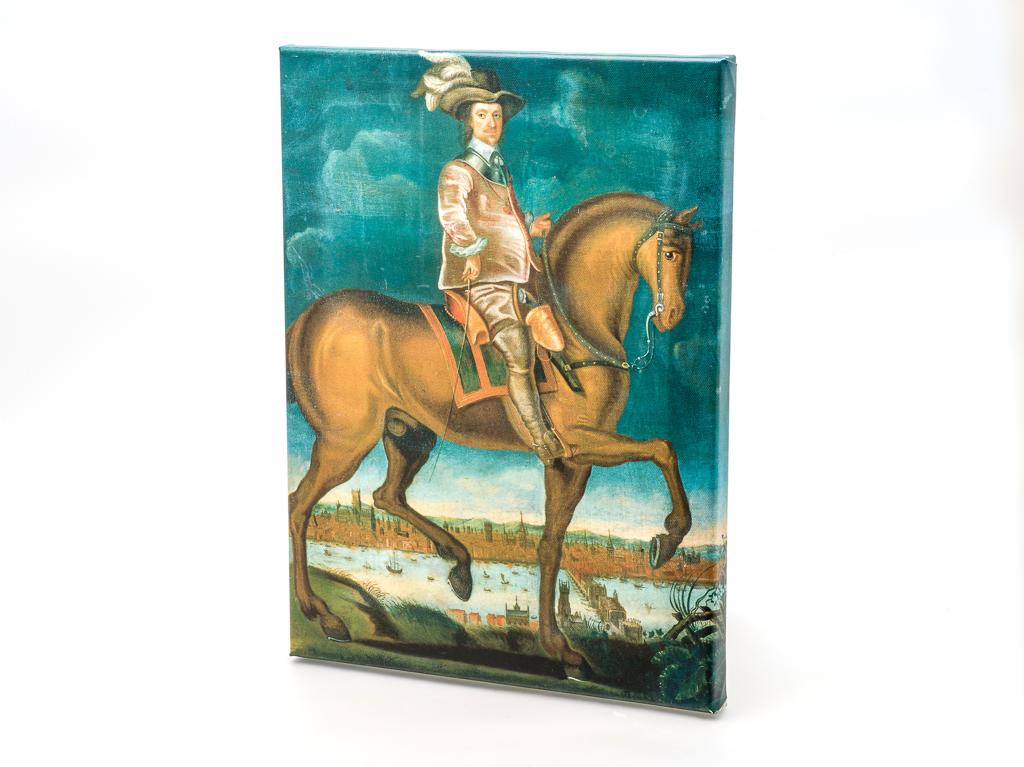 Canvas: Cromwell Portrait (Equestrian) (SKU: CA-CP-001)