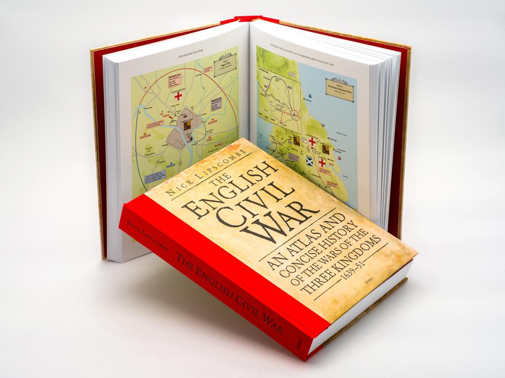 Book: The English Civil War: An Atlas and Concise History (SKU: BK-FA-031)