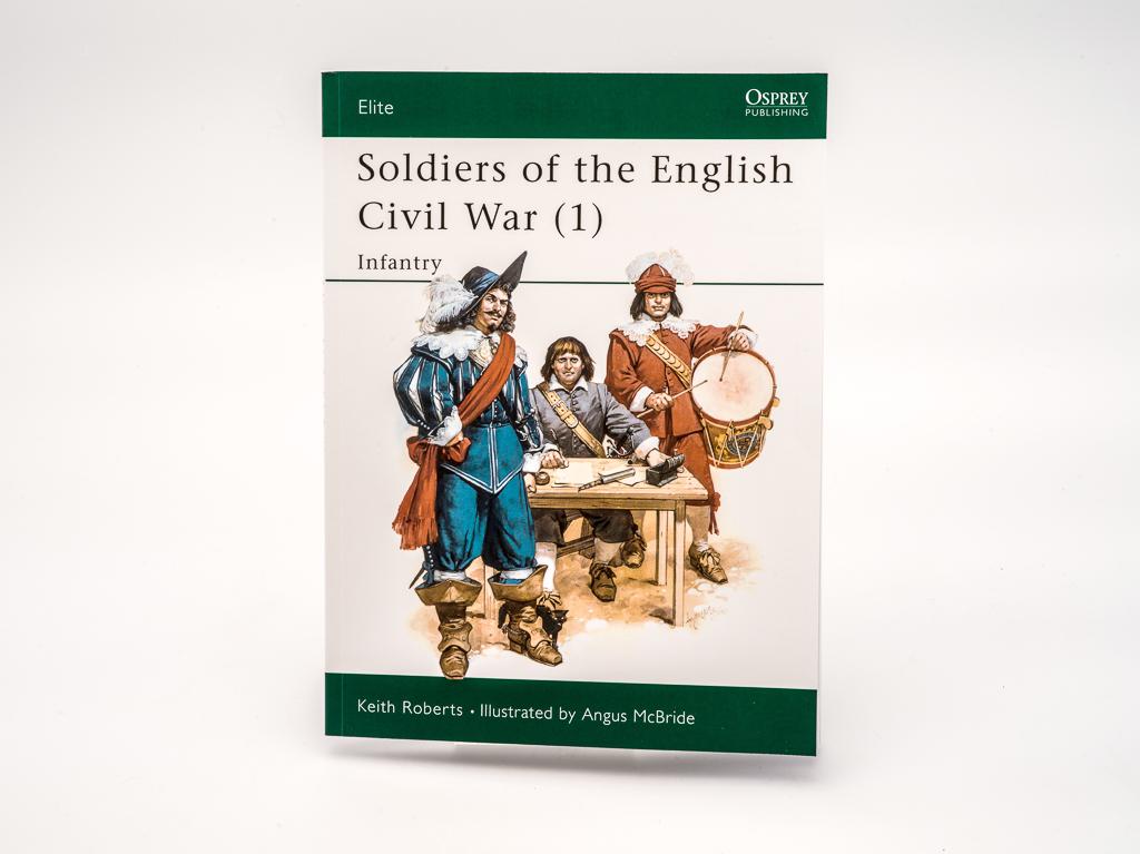 Book: Soldiers of the English Civil War 1 (Osprey) (SKU: BA-FA-028)