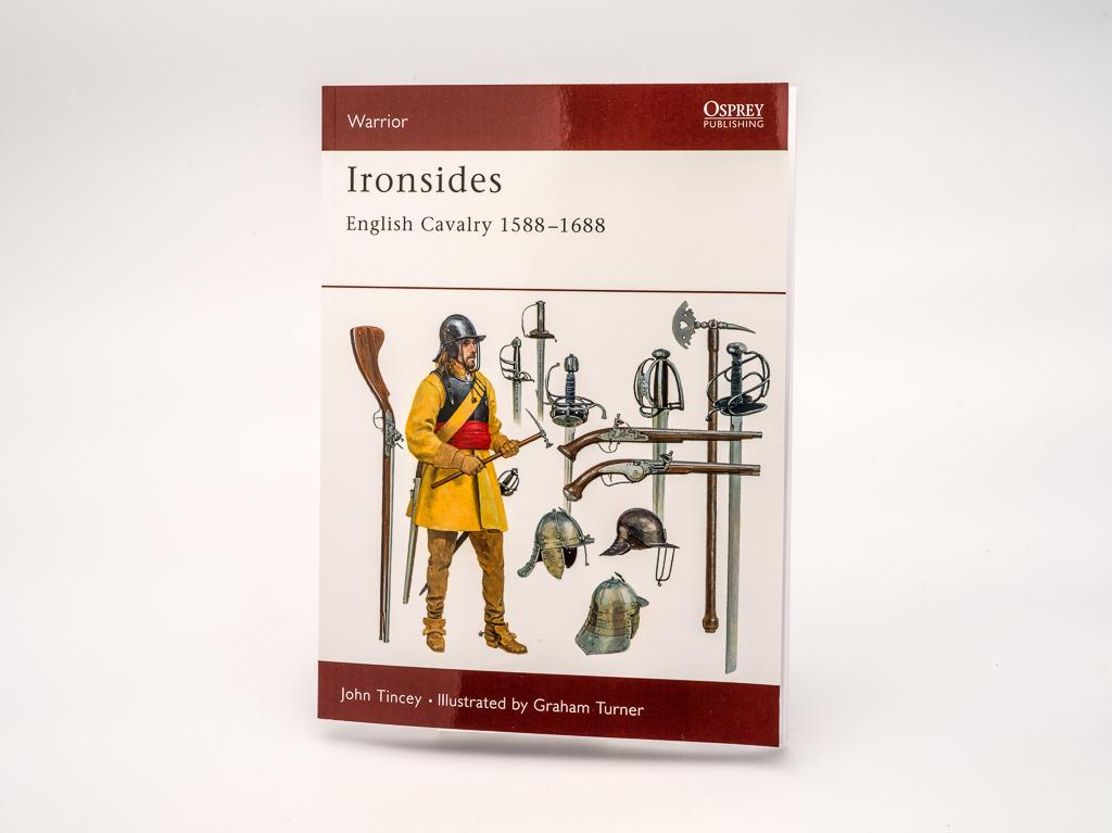 Book: Ironsides English Cavalry 1588-1688 (Osprey) (SKU: BK-FA-016)