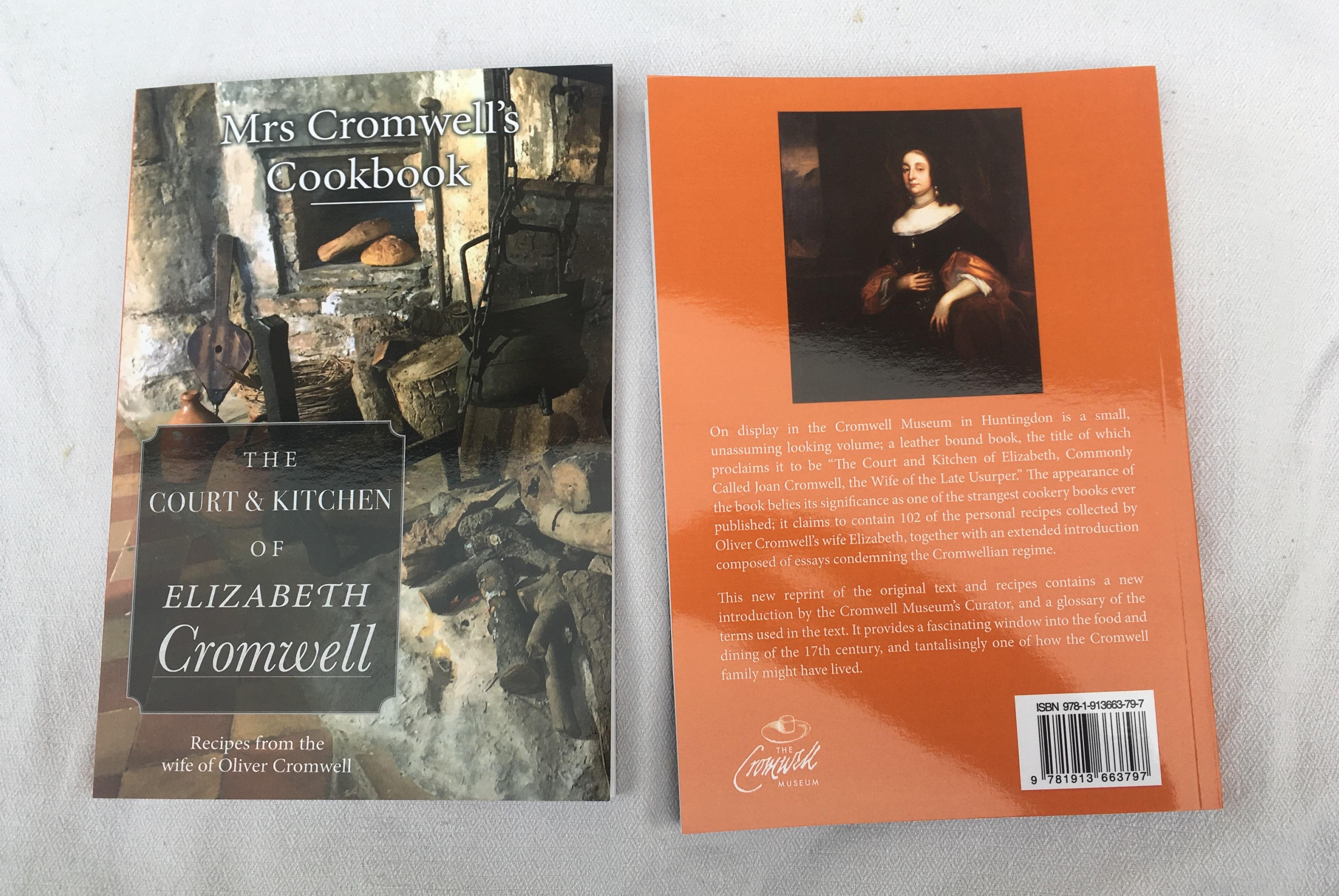 Book: Mrs Cromwell's Cookbook (SKU: BK-FA-037)