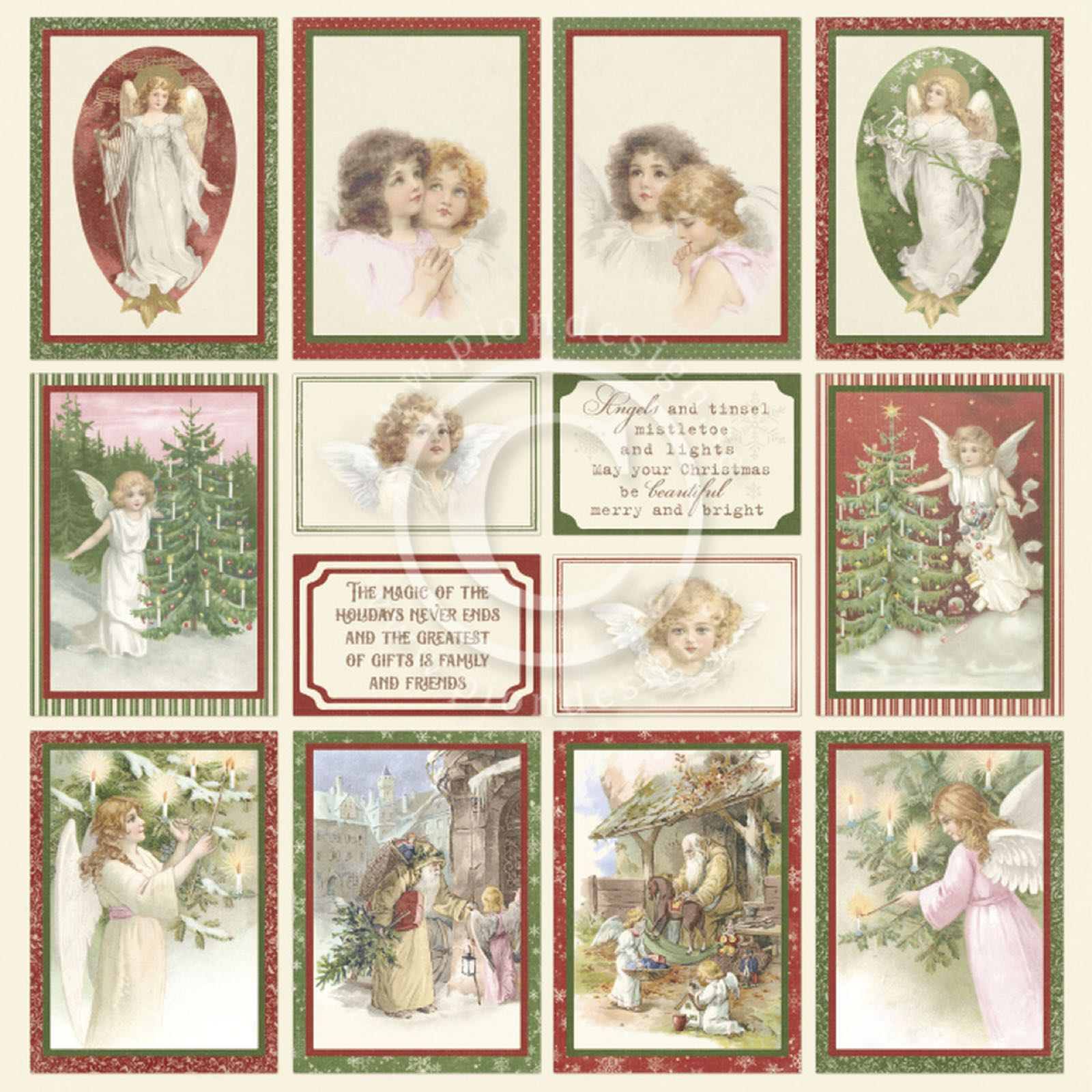 Pion designA christmas to remember 4-image from the past PD
