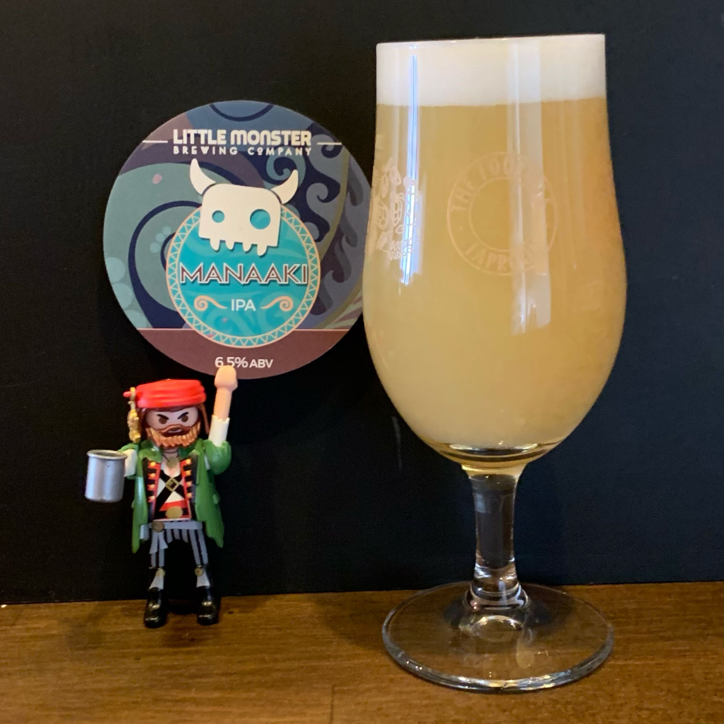 Tap 05 - Craft Keg - Little Monster - Manaaki - IPA - 6.5% (2 Crowlers)