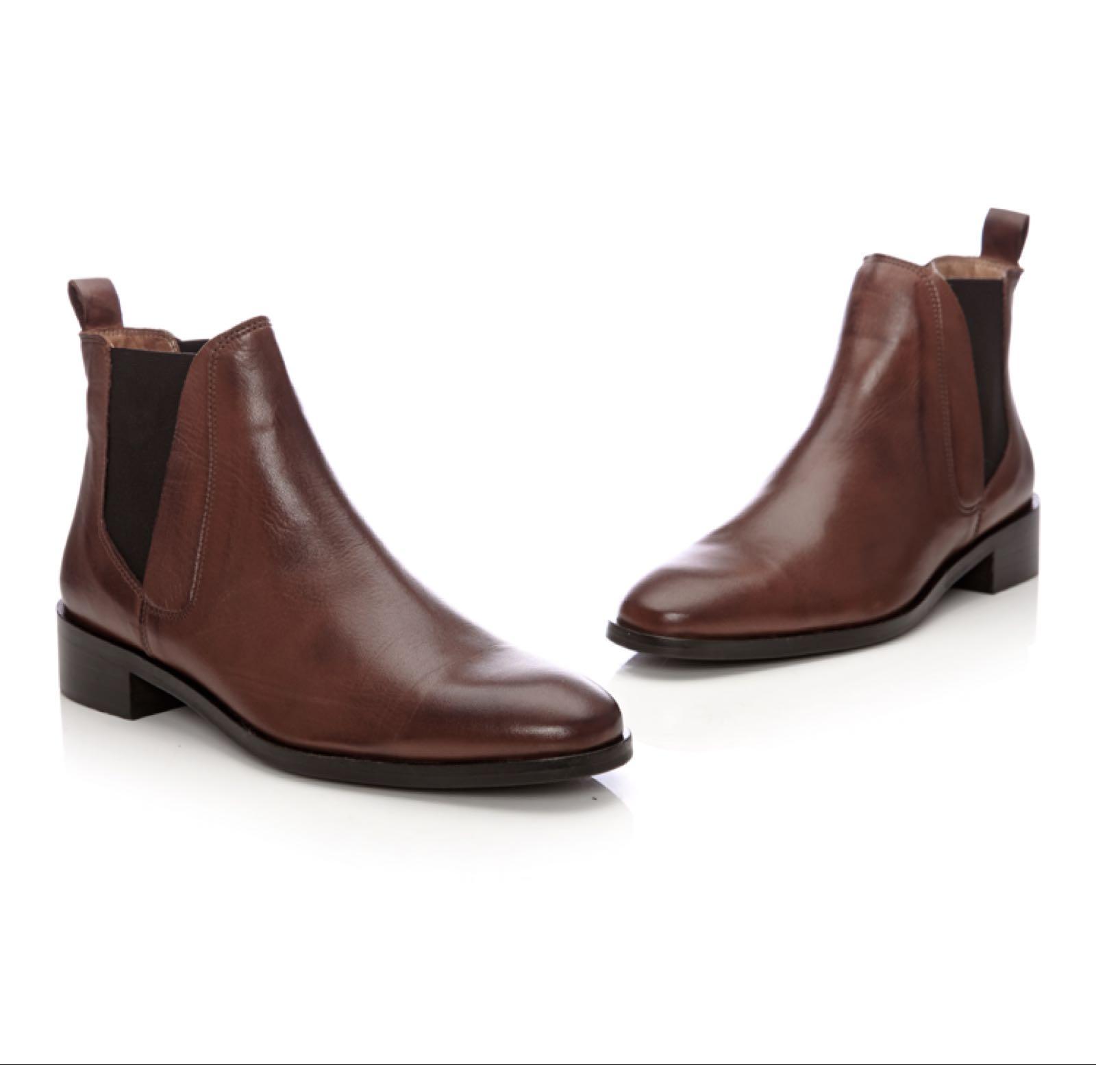 Moda in Pelle Amettio Tan Leather