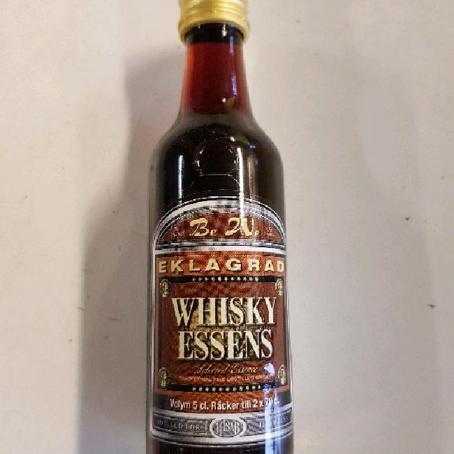 Whisky essens