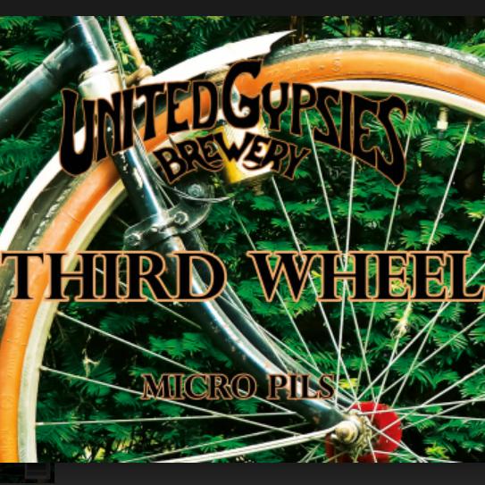 United Gypsies / Third Wheel / 2,8% / 0,33 Tölkki