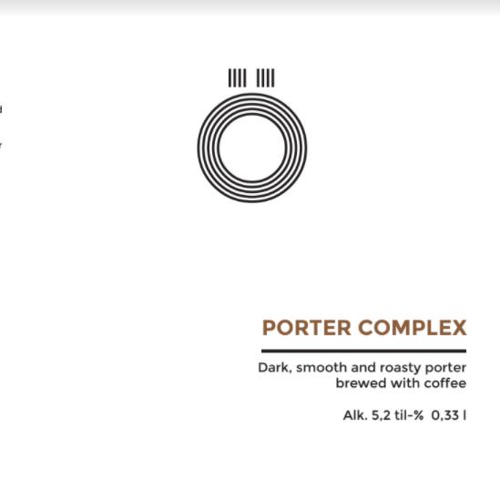 Ö Brewing / Porter Complex / 5,2% / 0,33 Tölkki