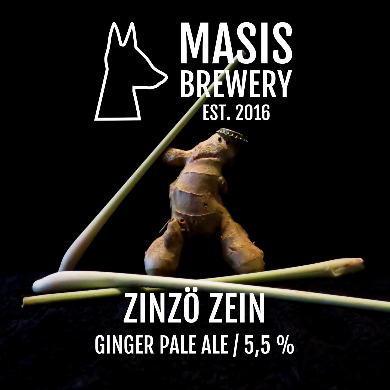 Masis Brewery / Zinzö Zein / 5,5% / 0,33 Tölkki