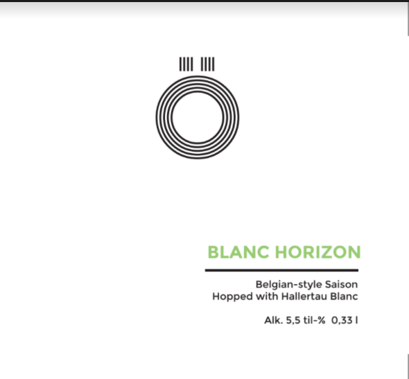 Ö Brewing / Blanc Horizon / 5,5% / 0,33 Tölkki