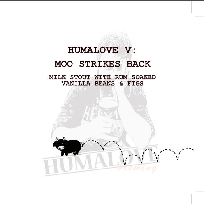 Humalove / Moo Strikes Back / 5,4% / 0,33 Pullo