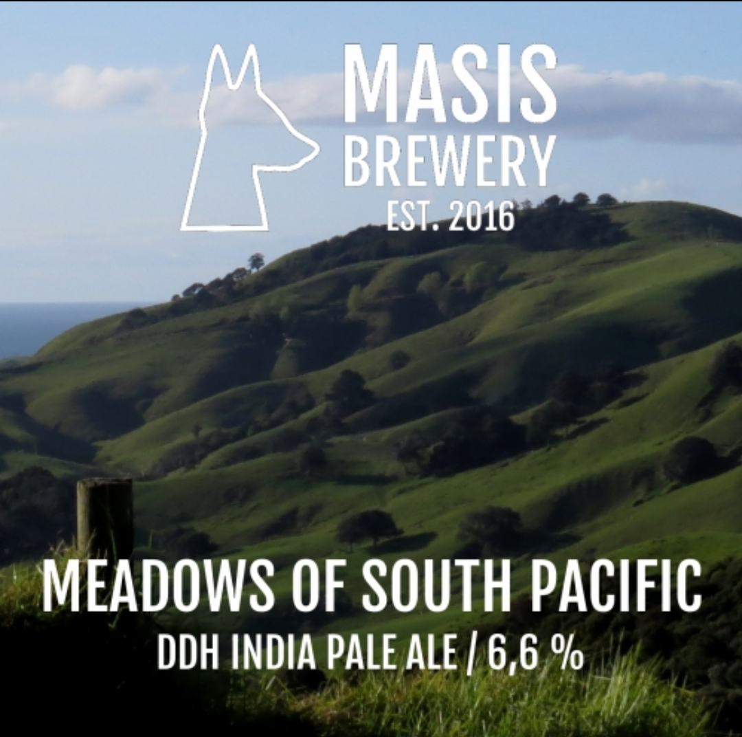 Masis / Meadows of South Pacific / 6,6% / 0,33 Pullo