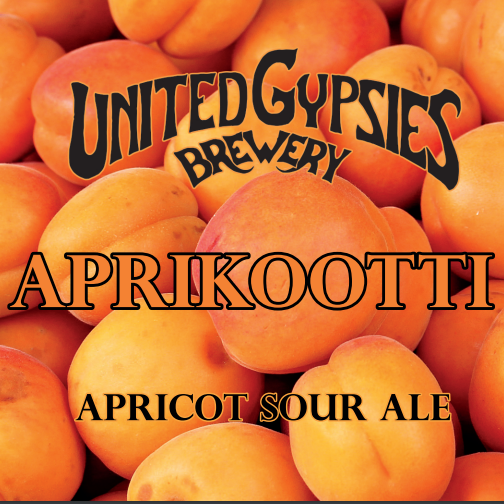 United Gypsies / Aprikootti Sour / 4,9% / 0,33 Tölkki