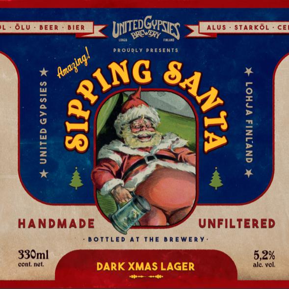 Sipping Santa Dark Lager / 5,2% / 3l Pönö