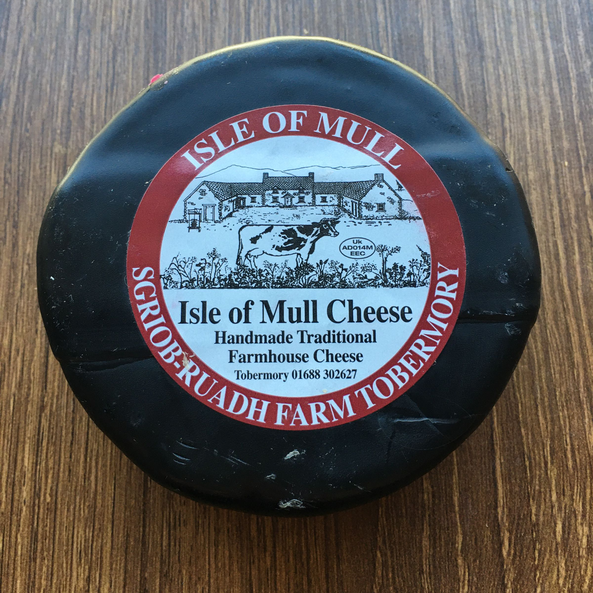 Isle of Mull Waxed Cheese