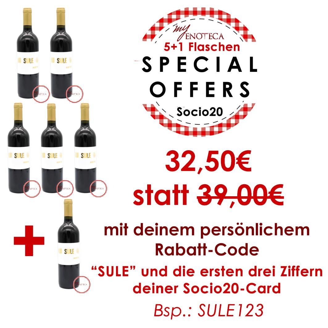 5+1 LU SULE - Salento I.G.T 2016