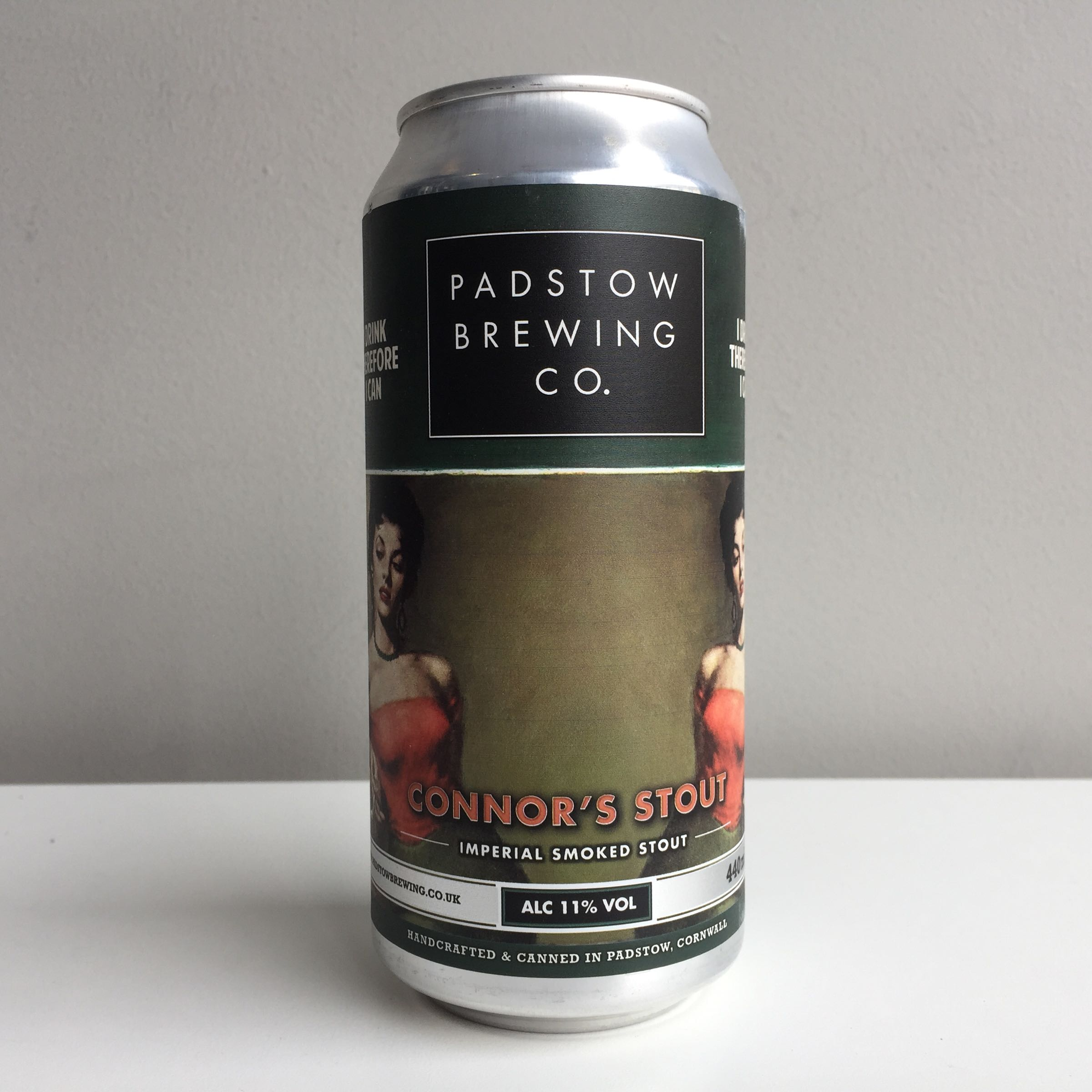 Padstow Brewing Co. 'Connor's Stout' Imperial Smoked Stout 44oml 11% ABV