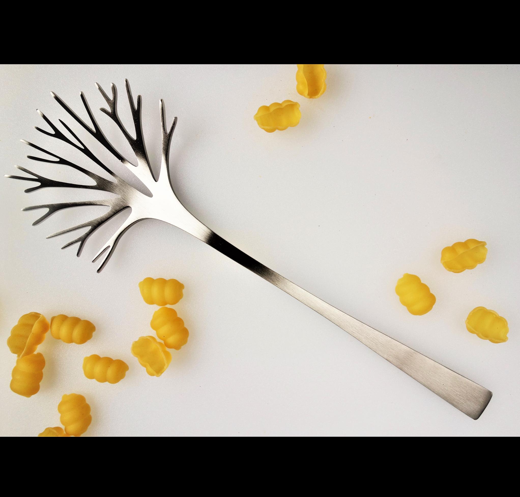 Pasta server - Brushed
