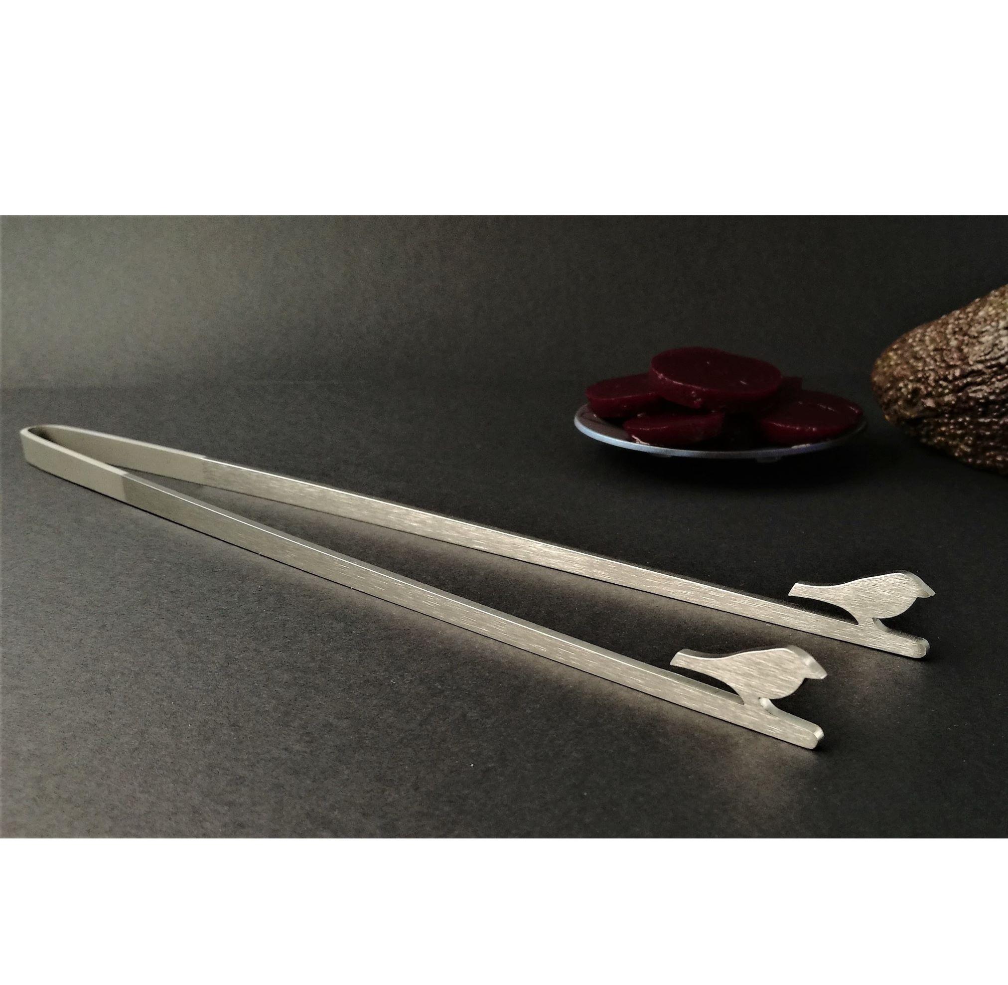Kitchen tweezers - Brushed