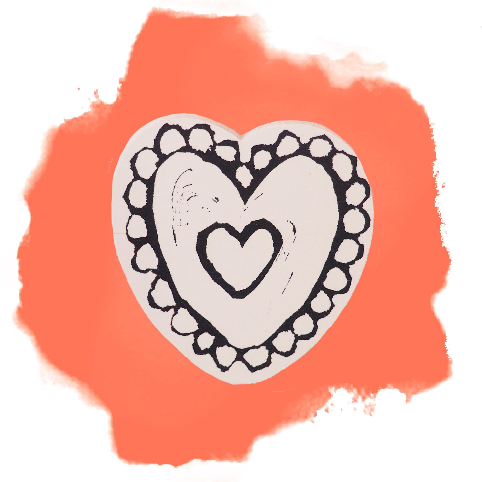 Sydän-koivumagneetti