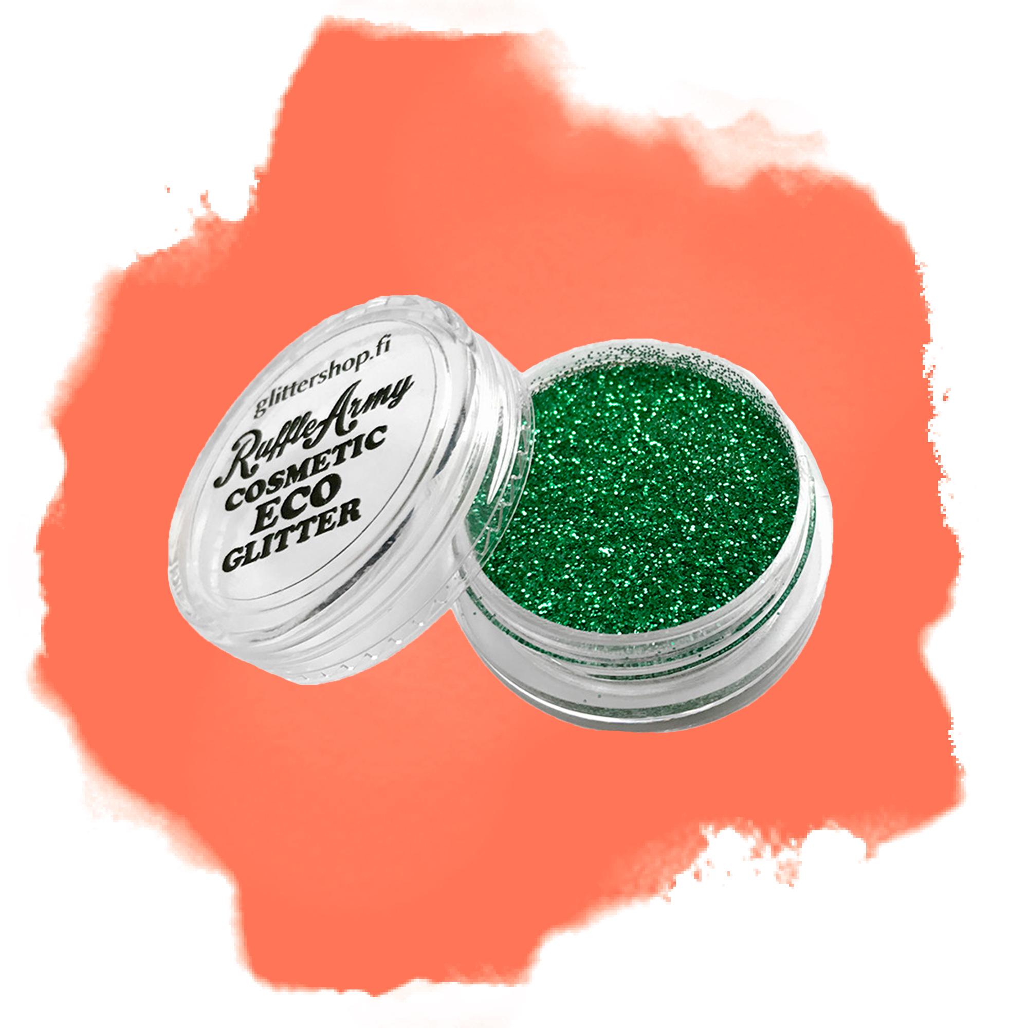 Ekoglitter Tropical green