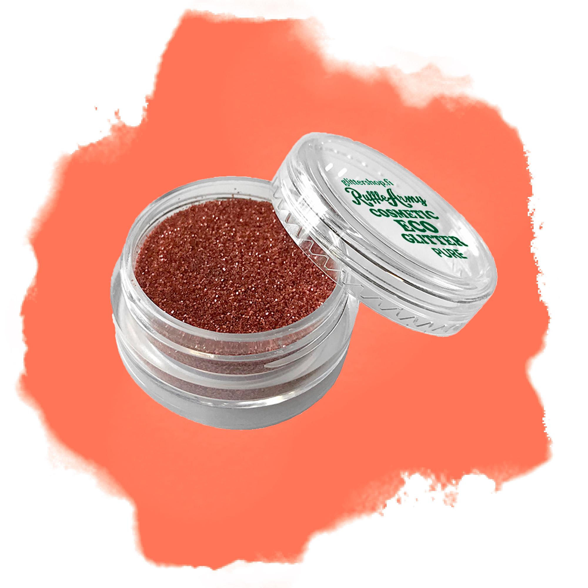 Ekoglitter Vintage Red Rust PURE
