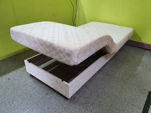 Prime Adjustamatic Mobility 3Ft Electric Single Bed Base The Recycled Goods Factory Beatyapartments Chair Design Images Beatyapartmentscom