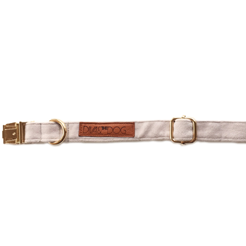 luxury dog collar, handmade dog collar, velvet dog collar, dog accessories  - Hundhälsan Kba / Diva & The Dog