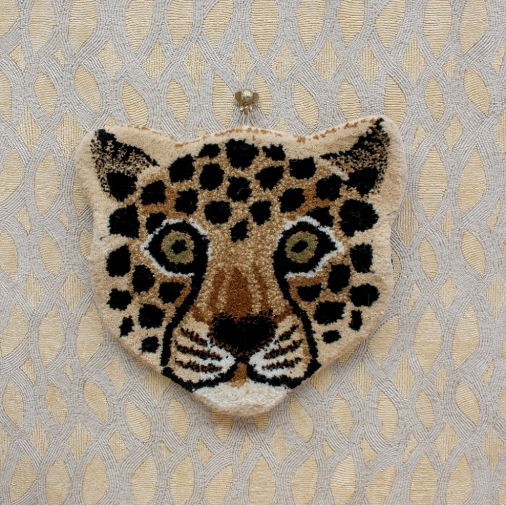 Leopard Head Rug Courthouse Interiors