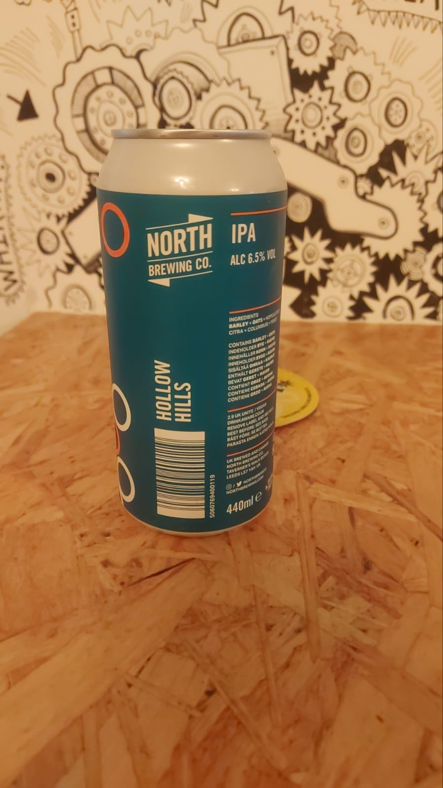 North Brew Co Hollow Hills IPA 6.5%