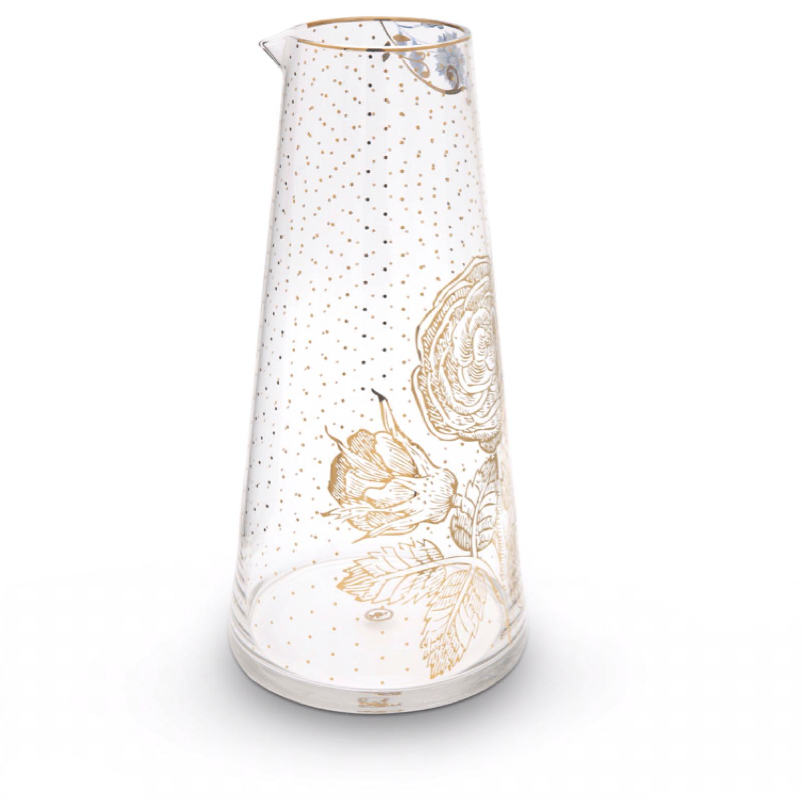 Pip studio royal golden flower pitcher
