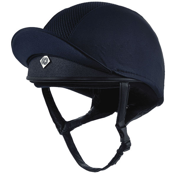 Charles Owen PRO 2 Plus Skull Navy Riding Hat