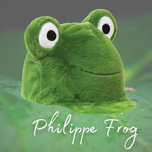 Equetech Phillippe Frog Hat Silk