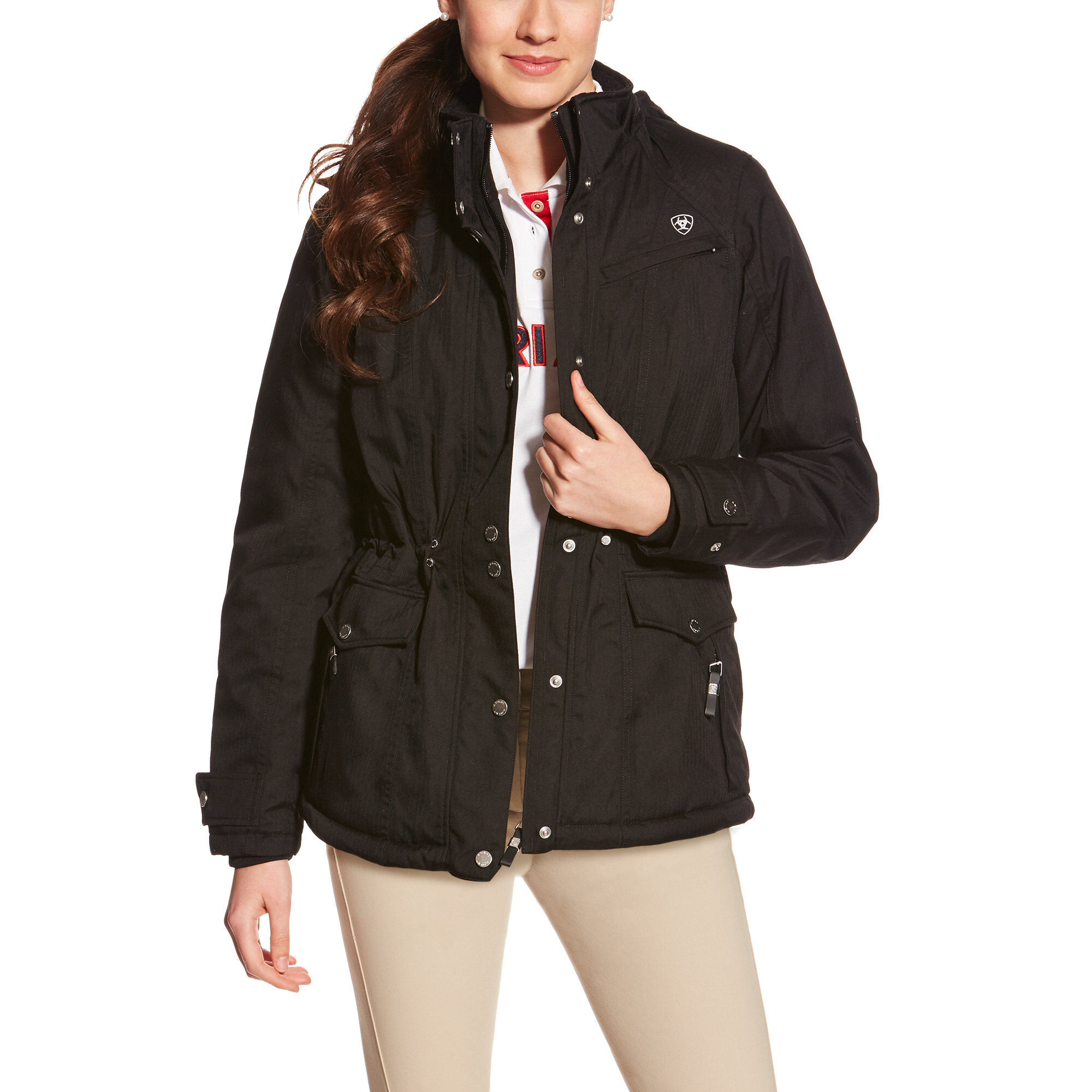 Ariat Momento Waterproof Jacket Black