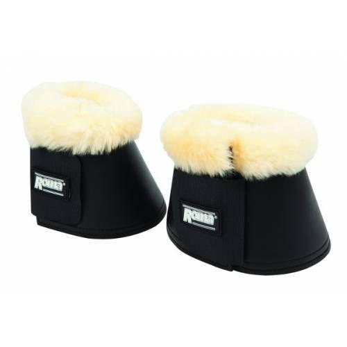 Roma Merino Sheepskin Trim Bell Boots