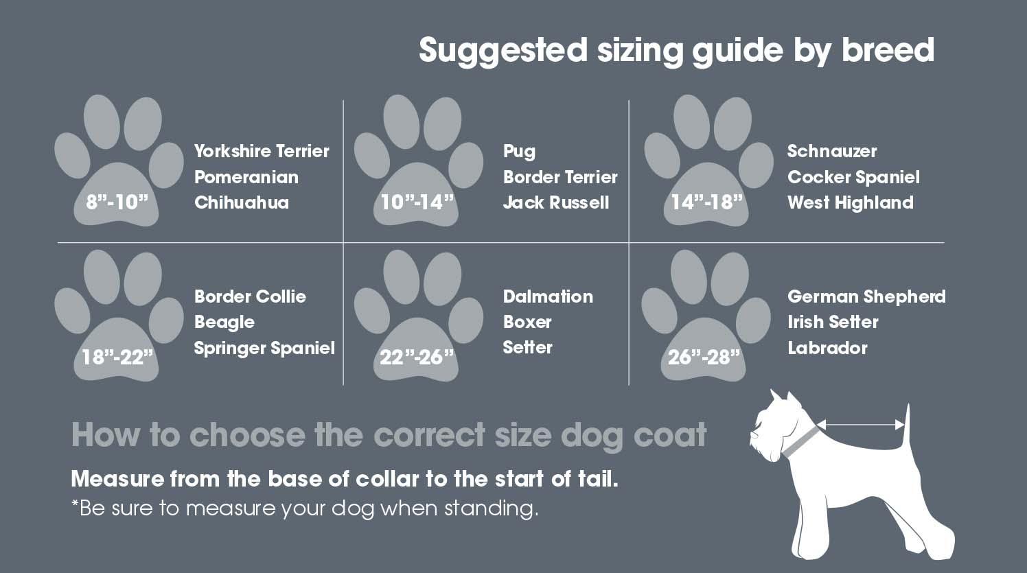WoofMasta Protech Infrared Dog Coat