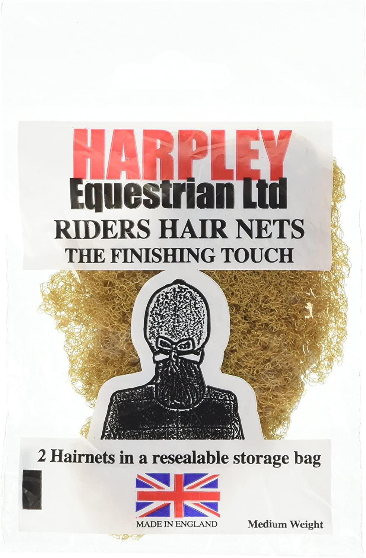 Harpley Equestrian Heavy Weight Hair Net 2 Pack