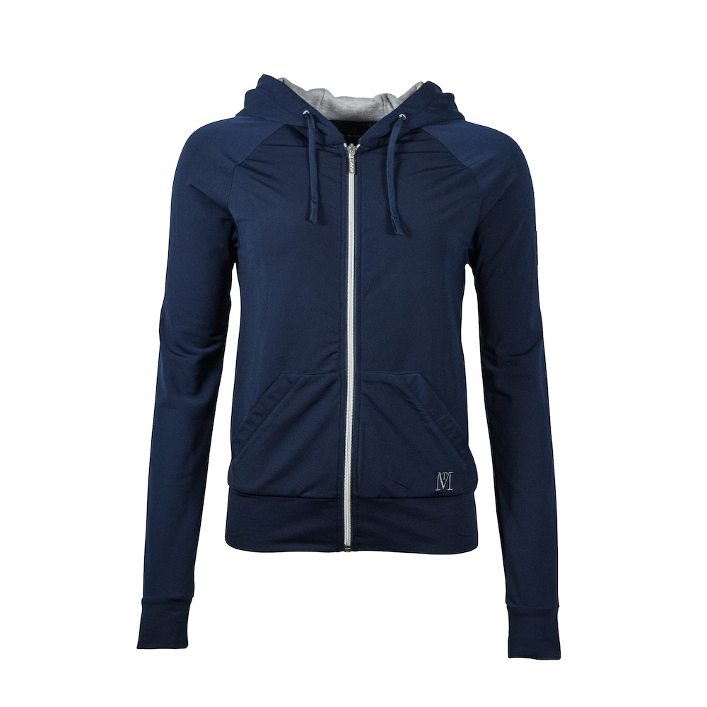 Mark Todd Fleece Lined Hoodie Jumper